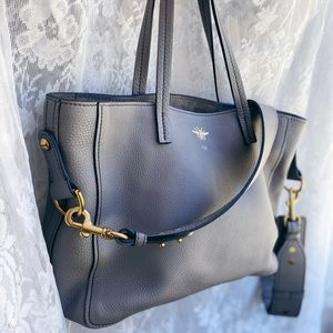 SOLD Christian Dior D-Bee Leather Tote